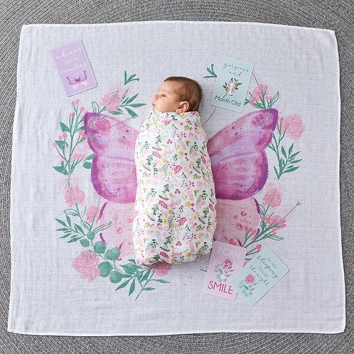 Milestone Muslin Set - Butterfly