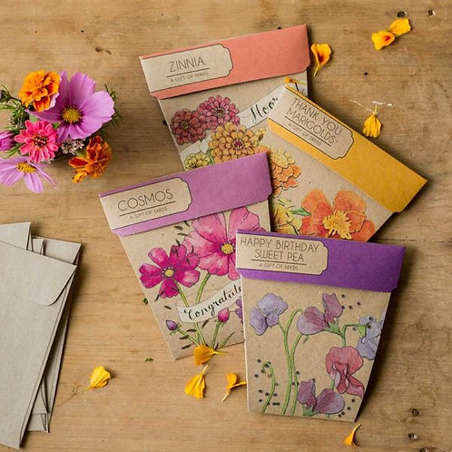 Gift of Flower Seeds by Sow n Sow