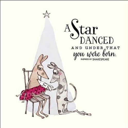 Twigseed Card - A Star Danced