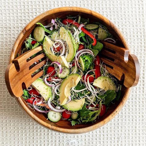 Acacia Salad Servers