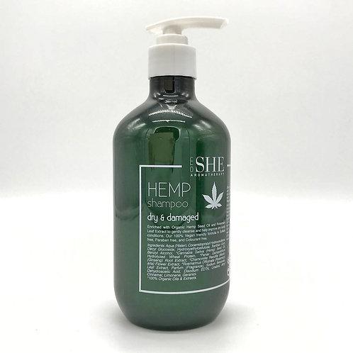 Shampoo Dry & Damaged Hemp Seed Oil