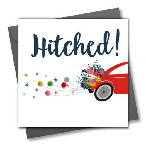Pom Pom Card - Hitched