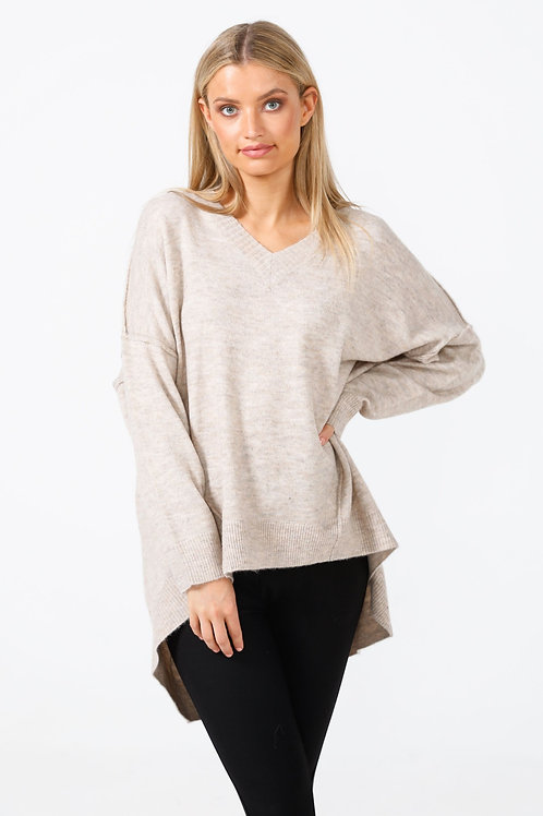 Wiltshire V Neck Knit by Brave+True