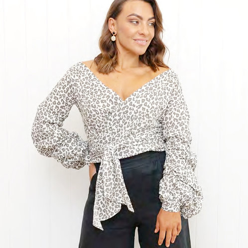 Penny Wrap Top by The 8th Letter