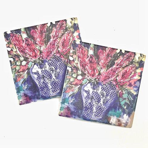 Coasters by Amanda Brooks - Set of 2