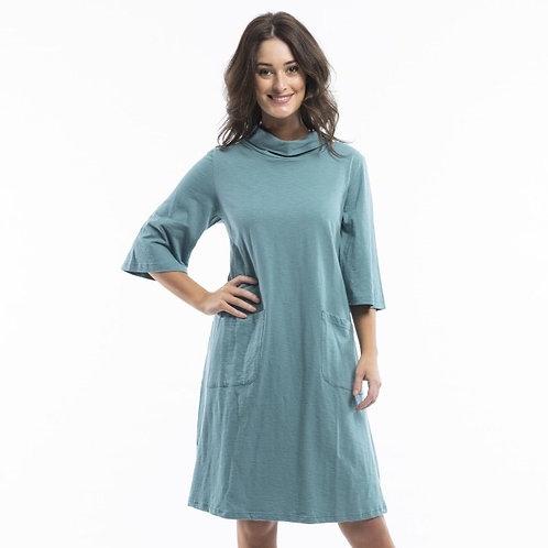 Essential Cowel Dress by Orientique