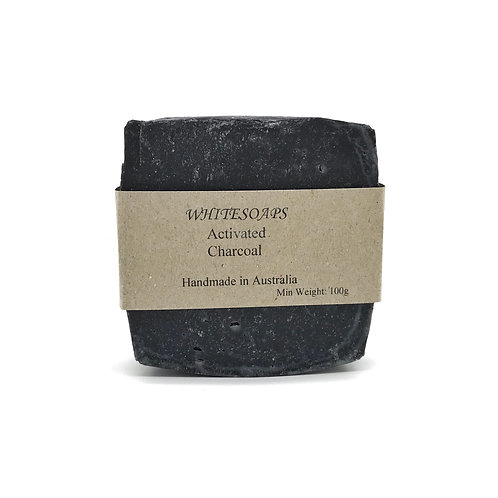 Activated Charcoal Soap Bar - By White Soaps