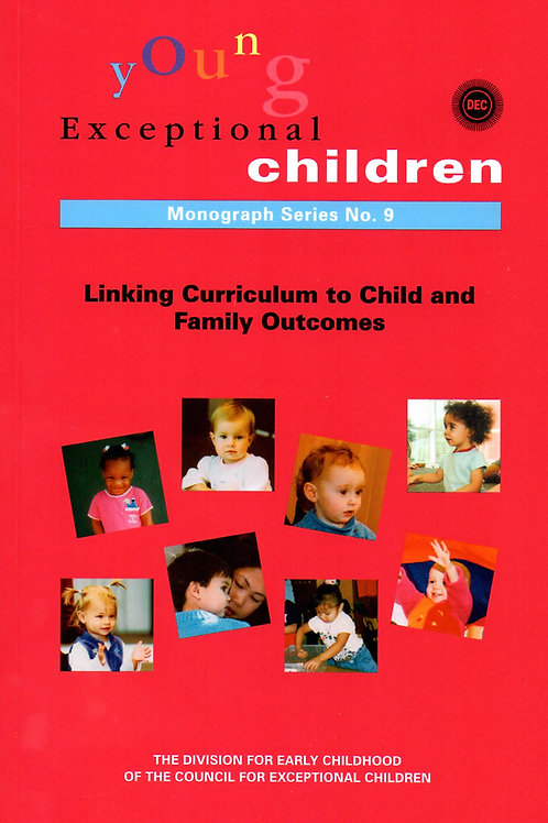 Young Exceptional Children Monograph No. 9