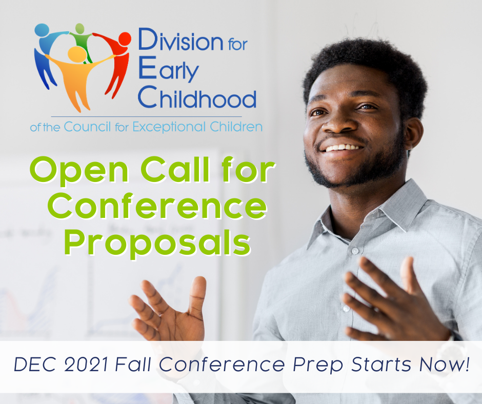 Open Call for Conference Proposals - DEC 2021 Fall Conference Prep Starts Now!