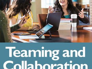 New Publication - Teaming and Collaboration: Building and Sustaining Partnerships