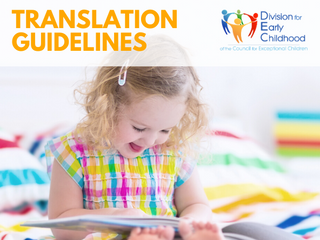 NEW Guidelines for Translating and Adapting DEC Materials