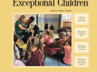 Young Exceptional Children Special Issue: Social Justice Approaches in Inclusive Early Childhood Edu