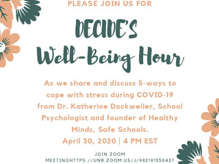 DECIDE's Well-Being Hour