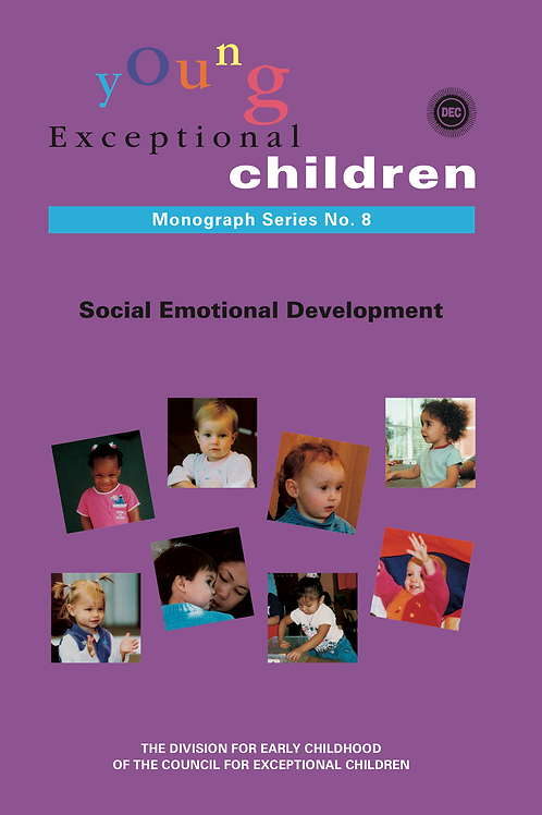 Young Exceptional Children Monograph No. 8