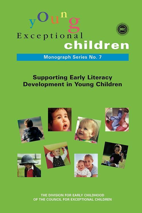 Young Exceptional Children Monograph No. 7