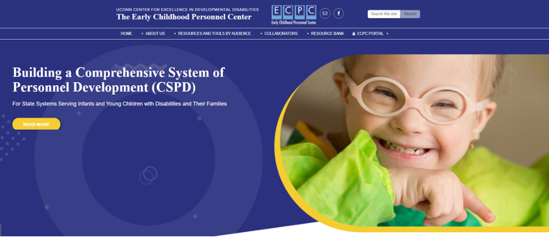 Early Childhood Personnel Center Website