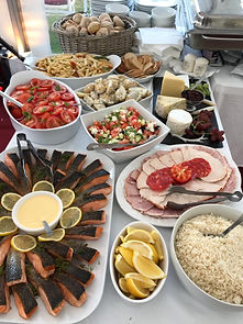 Cold Buffet Table