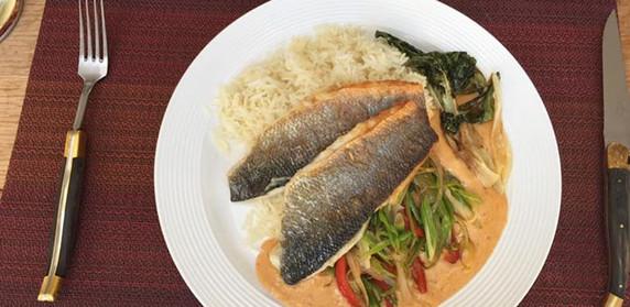 Panang Sea Bass Curry