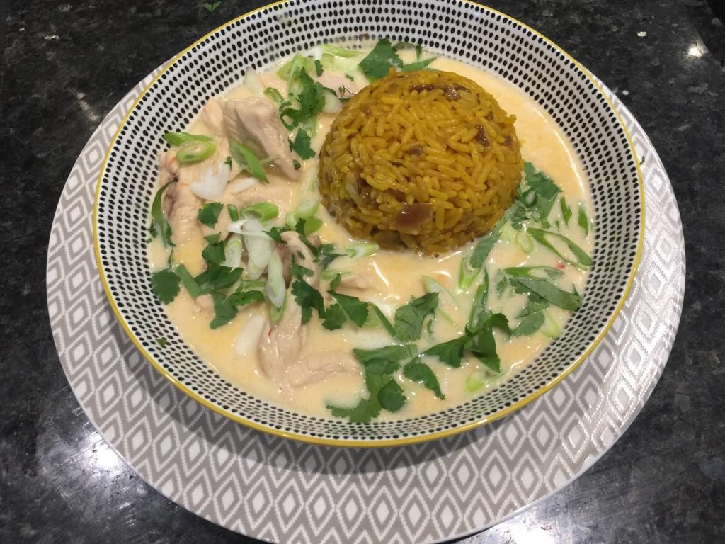 Chilli Chicken Coconut Soup