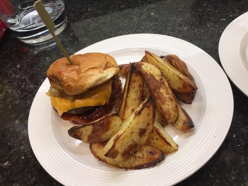 Brioche Cheese Burger and Normski Chips.jpg