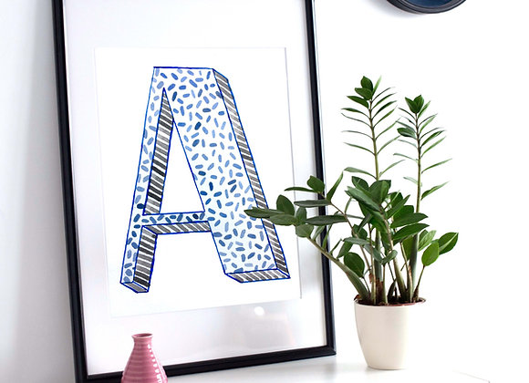 GRAPHIC LETTERING