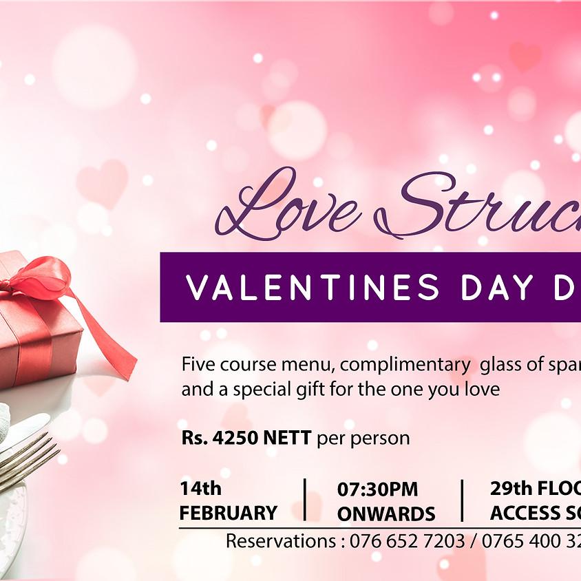 Lovestruck; Valentines Dinner