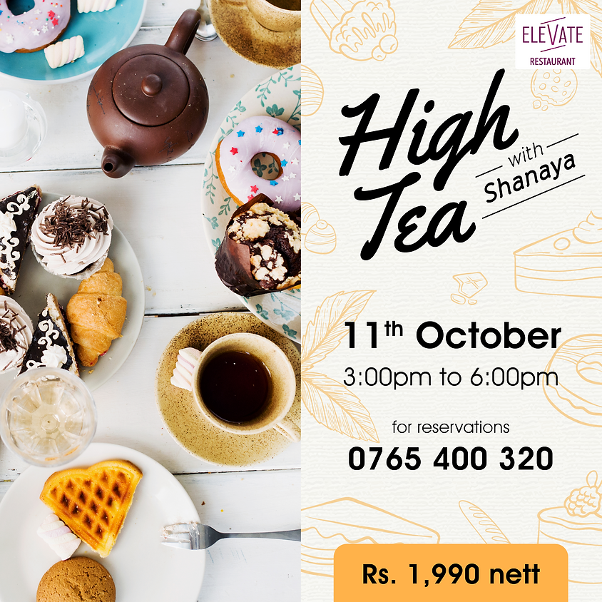 High Tea with Shanaya
