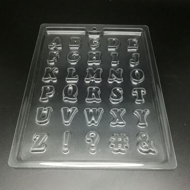 Alphabet Chocolate Mold