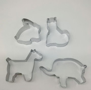 Cookie Cutter Set of 4 - Animal