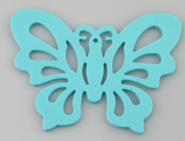 silicone trivet butterfly