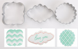 cookie cutter scallop shapes
