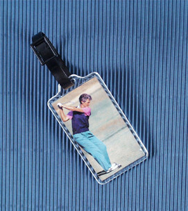 Photo Baggage Tag