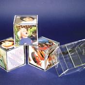 Plastic Cube Frames