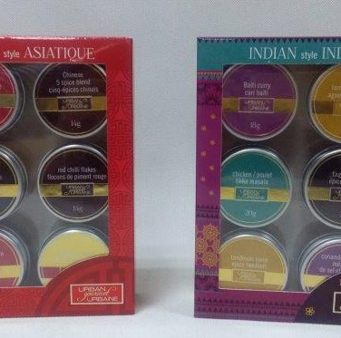 Spice Tins Assorted