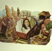 Theme Park Photo Frame