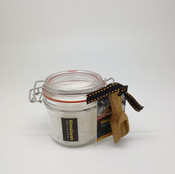 Himalayan Coarse Sea Salt in Canister with Wooden Spoon
