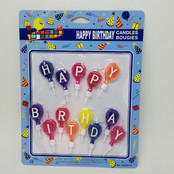 Happy Birthday Candle Set 1