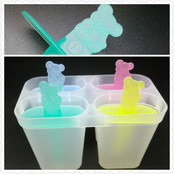 Lolly Ice Pop Mold Set of 4