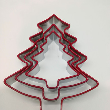 Xmas Tree Cookie Cutter Set