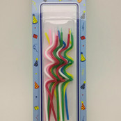 Sprial Long Candle for Party