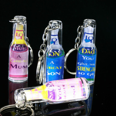 Bottle Keychain to Friends & Family