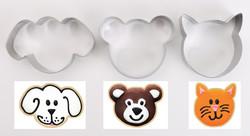 cookie cutter animals
