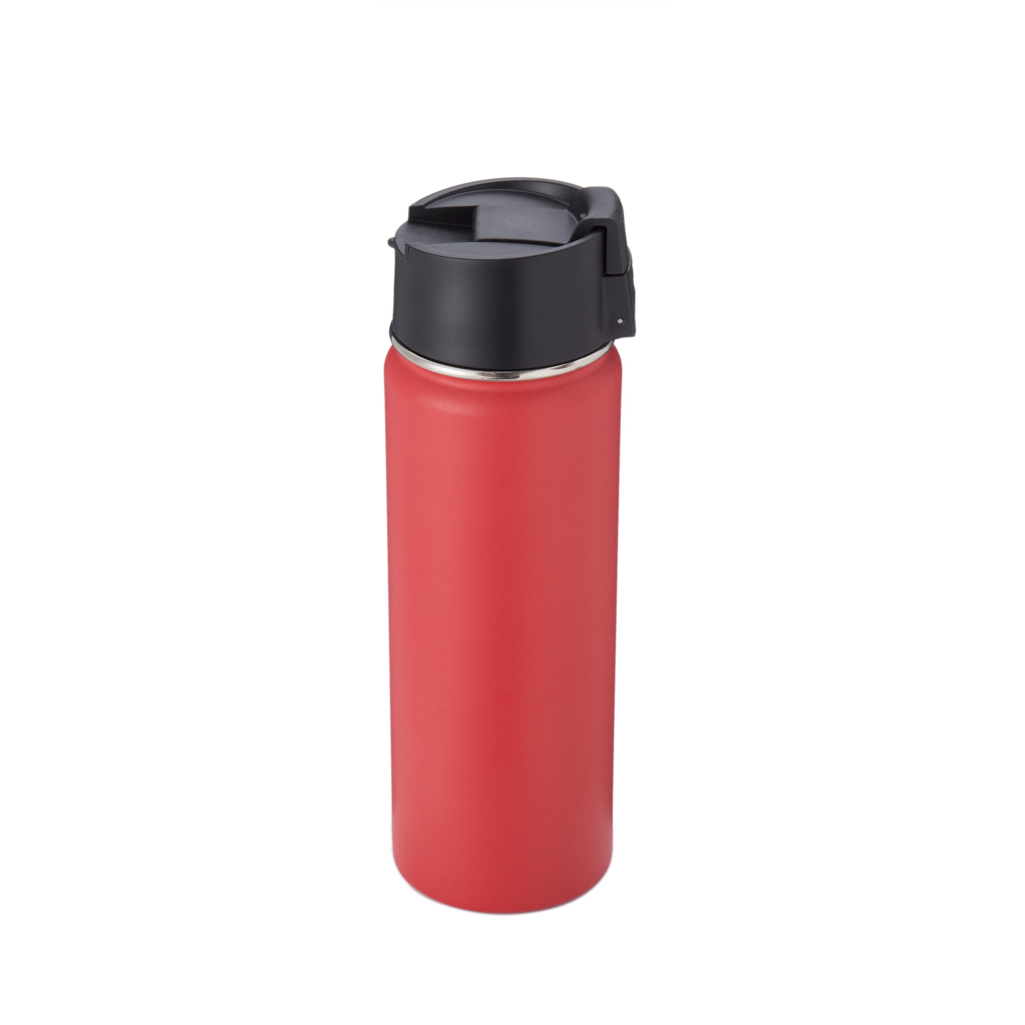 Thermos Bottle (Black & Red)
