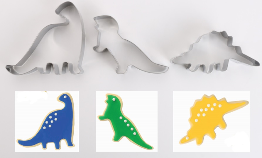 cookie cutter dinosaurs
