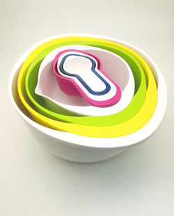 Mixing bowl set of 8