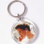 Snap-lid, Pop-in, Photo Keychain