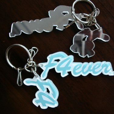 Mirror Backed Keychain