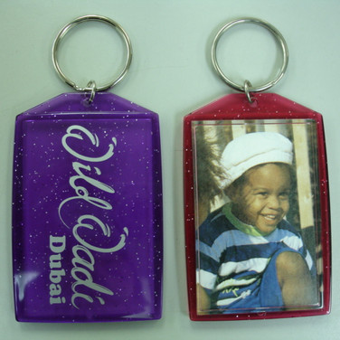 Theme Park Photo Keychain