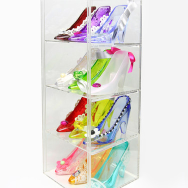 High Heel Collection in Box, Different Decor