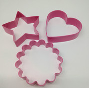 3 Shaped Cookie Cutter